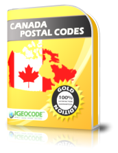 Canada Postal Code Gold Edition